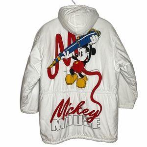 ❌SOLD❌Vintage REVERSIBLE Disney Mickey & Co Jacket